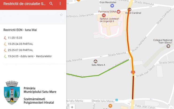 Restricționări de circulație pe strada Ștefan cel Mare