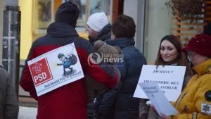 Un nou protest împotriva amnistiei și grațierii, la Satu Mare