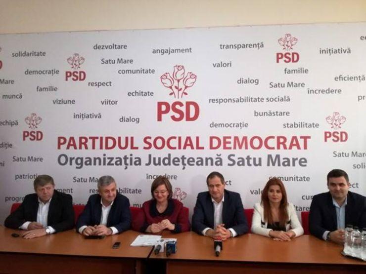 """Președintele Camerei Deputaților, Florin Iordache: """"Candidații PSD Satu Mare la Parlament sunt candidați buni, serioși, care cunosc problemele sătmărenilor și sunt oameni care vor veni cu soluții"""""""