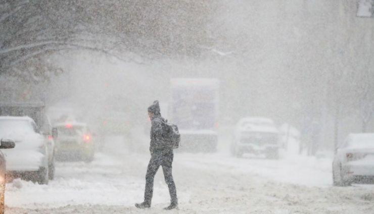 Atenționare de viscol, lapoviță și ninsoare în județul Satu Mare