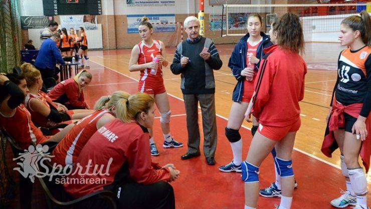 Volei | CSM Satu Mare joacă primul meci din play-off cu CSU Politehnica Timișoara