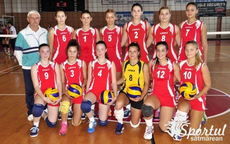 Volei | Victorie pentru CSM Satu Mare în prima etapă din noul sezon