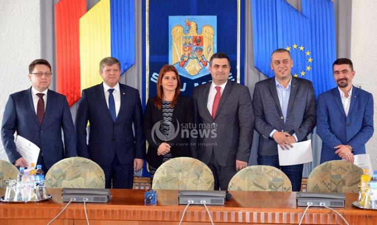 Parlamentarii de Satu Mare și-au primit oficial mandatele