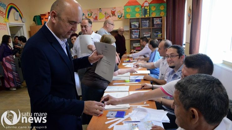 Prefectul județului Satu Mare, Radu Bud, a votat azi pentru un primar care să aibă o echipă capabilă să dezvolte orașul nostru