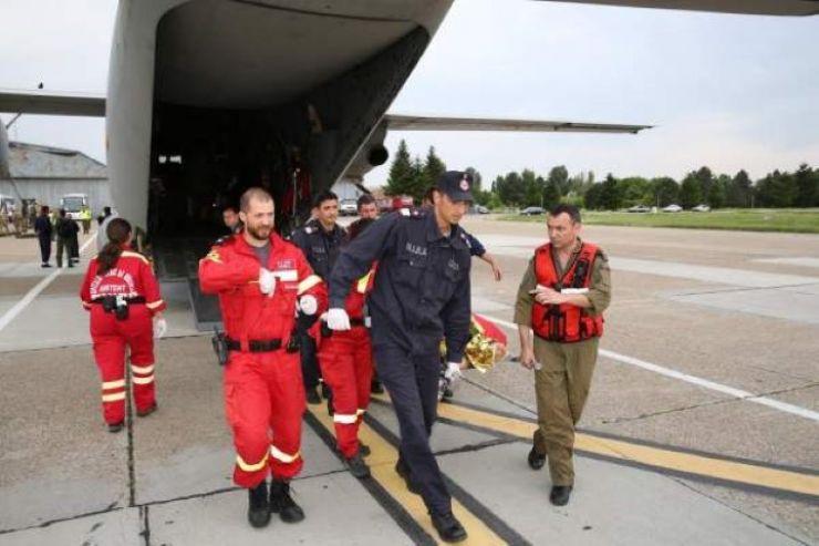 Misiune umanitară a Forţelor Aeriene la Satu Mare