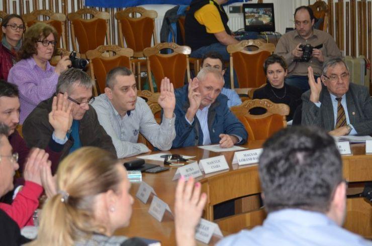 Ordinea de zi a ședinței ordinare a Consiliului Local Satu Mare