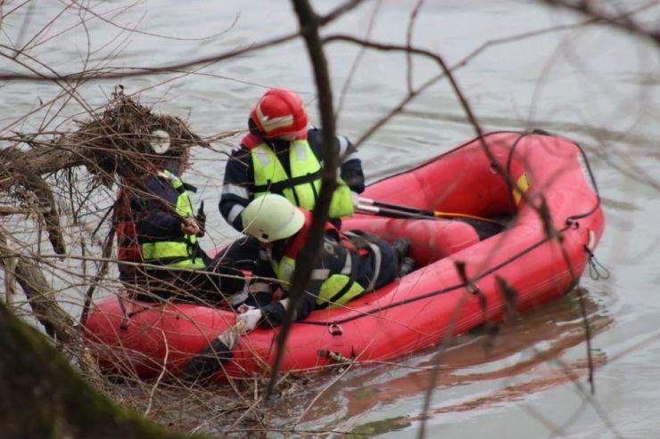 Cadavru găsit de un pescar în râul Someș