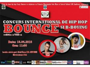 Concurs internațional de Hip-Hop și B-Boying Bounce, în weekend