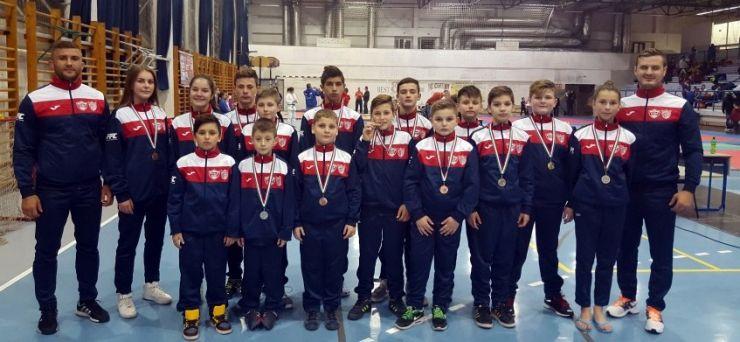 Judo. CSM Satu Mare a câștigat 13 medalii la un turneu din Ungaria