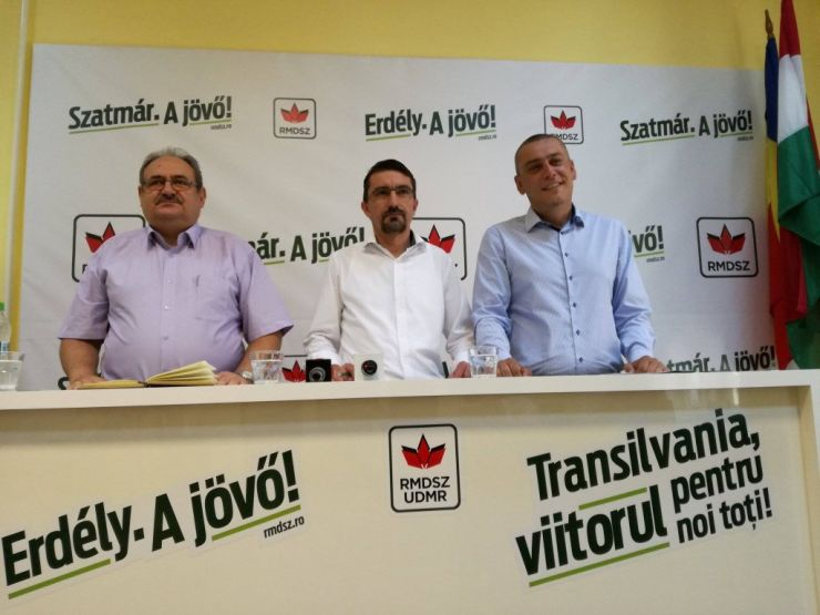 Parlamentarii sătmăreni ai UDMR, Erdei, Turos și Magyar, la bilanț