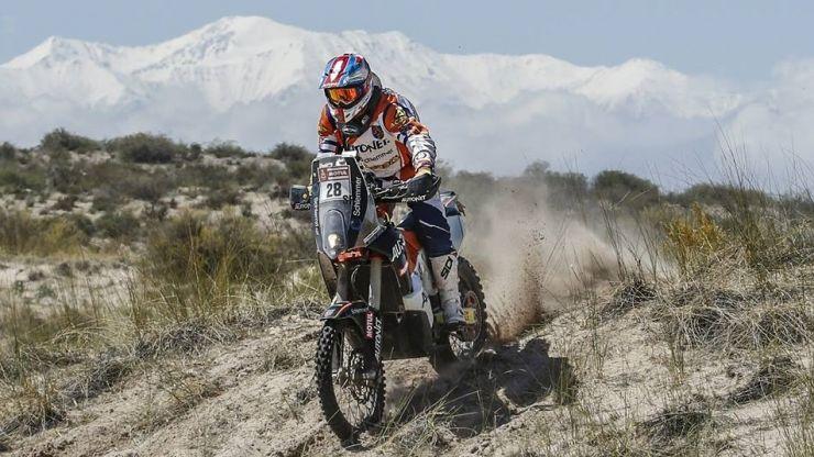 Dakar 2018   Emanuel Gyenes, locul 30 în etapa a zecea și pe 25 la general
