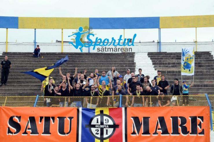 Olimpia Satu Mare întâlnește mâine, pe teren propriu, UTA Arad