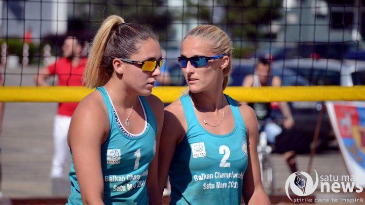 Beach Volley. Sătmărencele Adriana Matei și Vaida Beata, vicecampioane balcanice