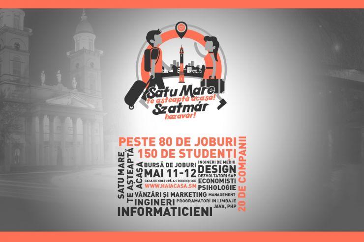 Firmele sătmărene oferă peste 80 de joburi studenților sătmăreni din Cluj