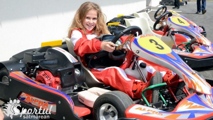 Investiție. Cea mai nouă pistă de karting privată din NV-ul țării a fost inaugurată la Ciuperceni
