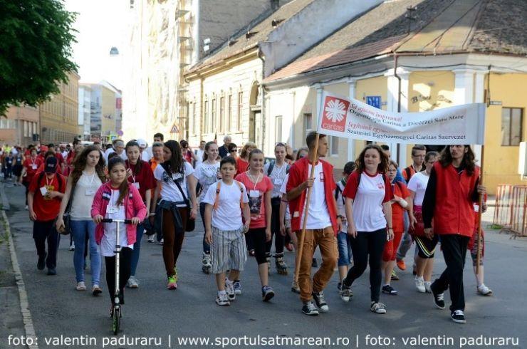 Caritas. În 11 iunie are loc a zecea ediție a maratonului de solidaritate