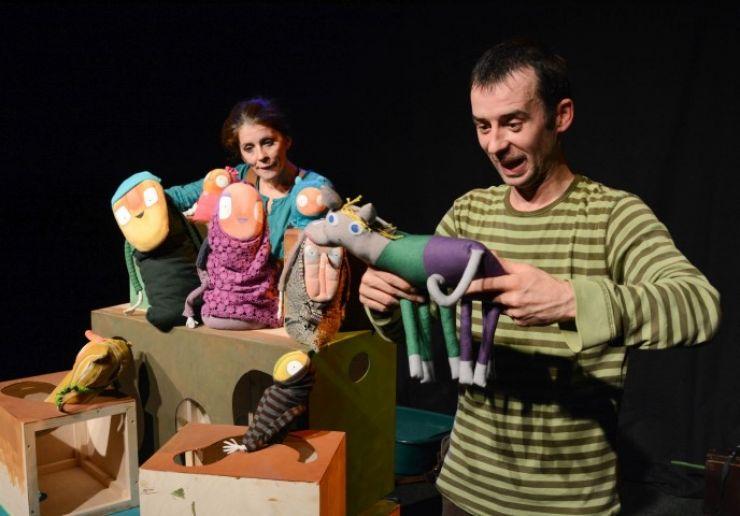 Teatrul de Păpuși Brighella, în deplasare la Biatorbágy