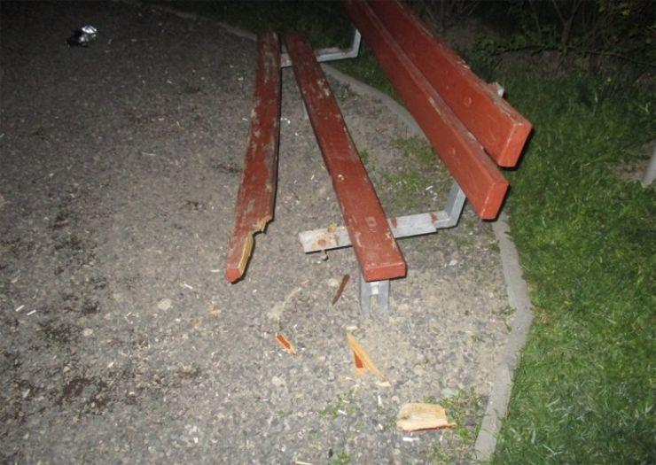 Parcurile din municipiu, vandalizate