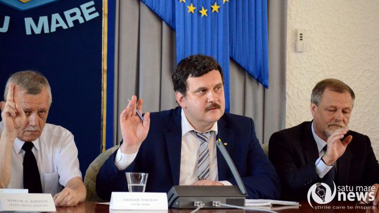 Pataki Csaba este noul președinte al Consiliului Județean Satu Mare