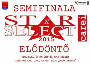 Semifinala Star Select la Carei