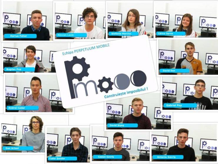 Echipa Perpetuum Mobile a CN Mihai Eminescu, la BRD FIRST Tech Challenge România