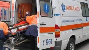 Doi sătmăreni au ajuns la spital intoxicați cu fum