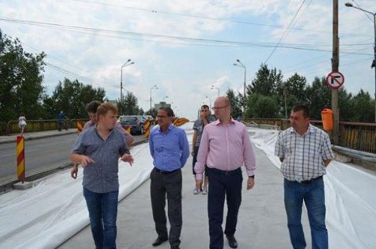 """Kereskenyi Gabor, despre lucrările la podul Decebal: """"Dl. viceprimar Albu a fost însărcinat să se ocupe zi de zi de această investiție"""""""