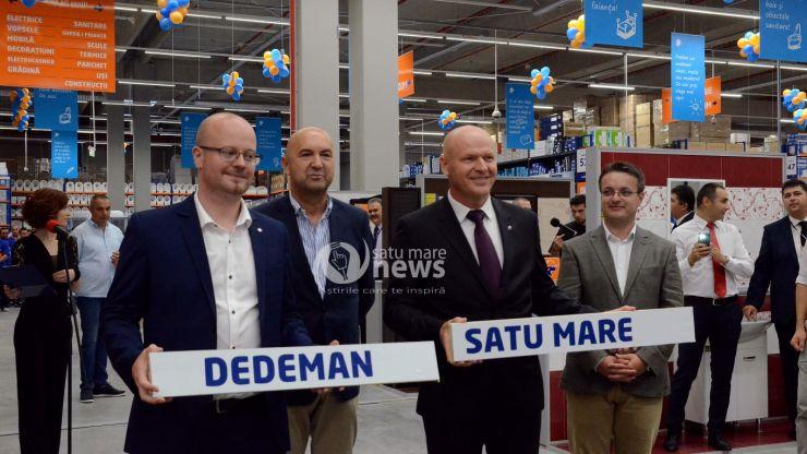 La Satu Mare funcționează de azi cel mai nou magazin Dedeman