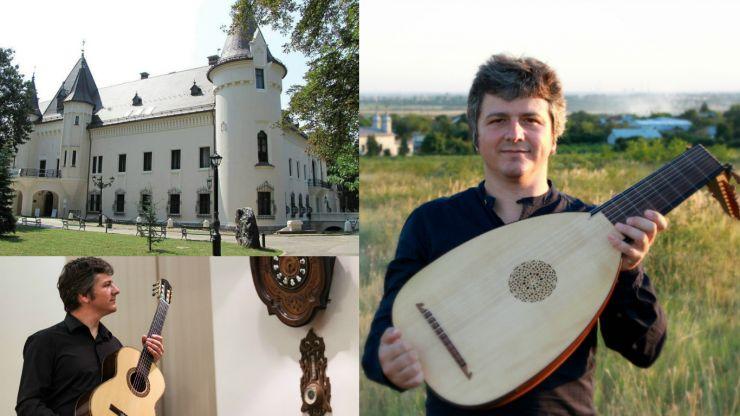 """Recital de lăută şi chitară la Castelul din Carei, în cadrul Turneului Naţional """"Muzica în Palatele României"""""""