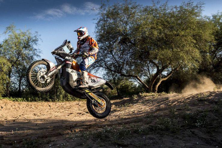 Dakar 2018    Mani Gyenes, locul 27 în penultima etapă a Raliului Dakar