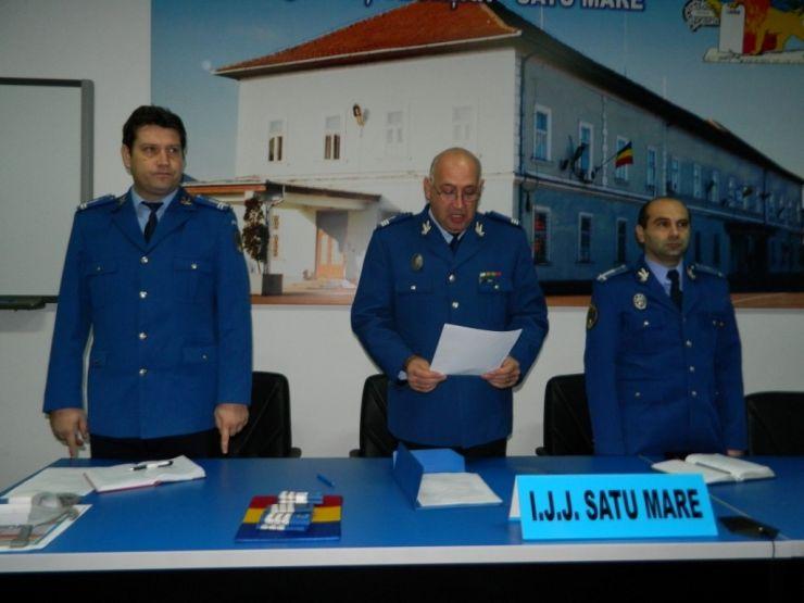 Trei jandarmi au fost avansaţi în grad înainte de termen