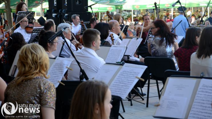 """Filarmonica """"Dinu Lipatti"""" va susține un concert în aer liber"""