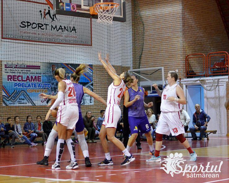 LNBF | Baschetbalistele de la CSM Satu Mare au câștigat și la Timișoara