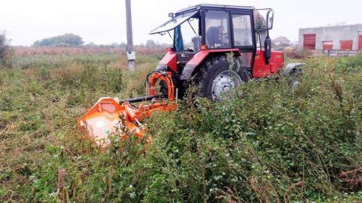 Primăria comunei Vetiș a achiziționat utilaje pentru întreținerea spațiilor verzi