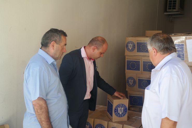 Prefectura a efectuat un control la Primăria Halmeu privind distribuirea alimentelor persoanelor defavorizate