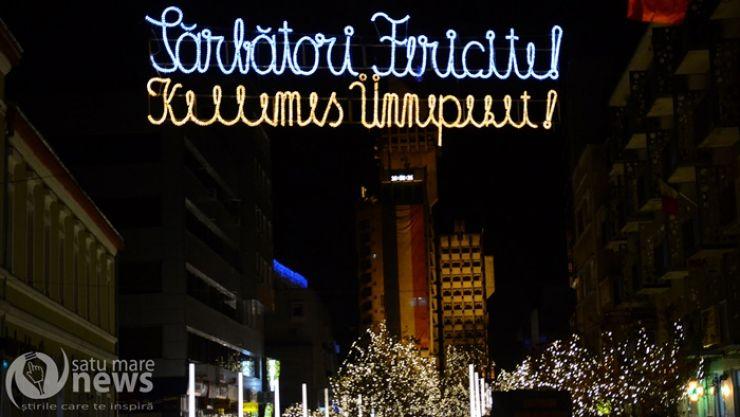 S-a deschis târgul de Crăciun de la Satu Mare!