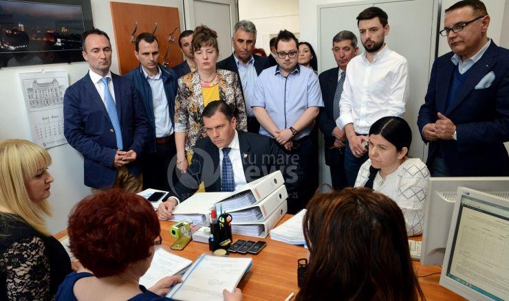 Adrian Ștef și-a depus candidatura pentru Primăria Satu Mare. Vezi lista consilierilor locali ALDE