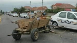 Un căruțaș și-a pierdut viața într-un accident de circulație