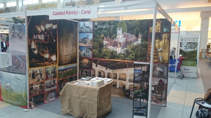 Castelul Károlyi, promovat la Târgul de Turism din Cluj Napoca