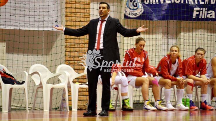 Baschet | CSM Satu Mare a suferit la Galați cea mai severă înfrângere din acest sezon