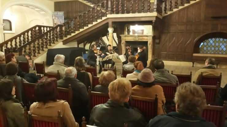 Cvartetul Tiberius a susținut un concert de excepție la Carei