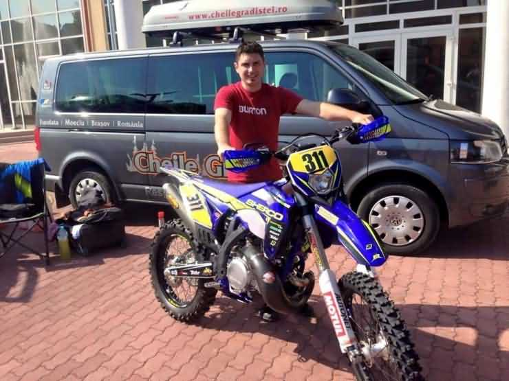 Emanuel Gyenes, locul 1 la Sebiș Enduro Challenge