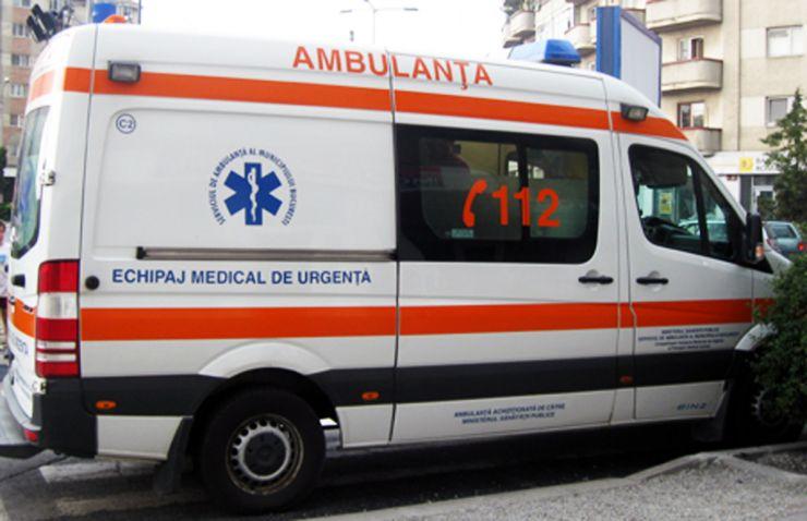 Accident rutier soldat cu rănirea unei fetițe de 2 ani