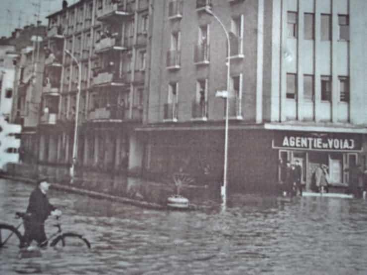 Slujbă de comemorare a victimelor inundațiilor din 14 mai 1970