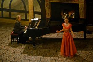 Concert de arii din opere și cântece de Crăciun de neuitat la Castelul din Carei (foto)