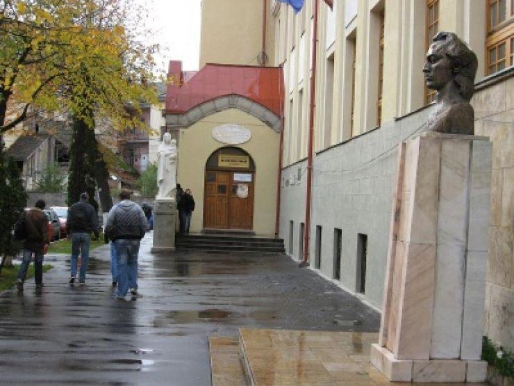 Mihai Eminescu, omagiat la Colegiul care îi poartă numele