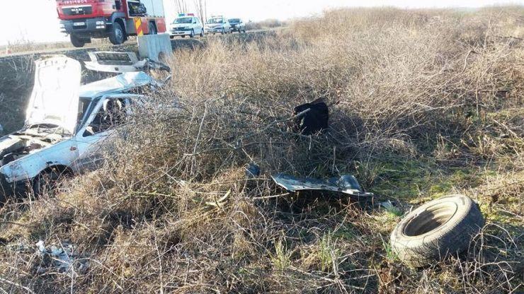 Polițiștii au deschis dosar penal pentru ucidere din culpă în cazul accidentului mortal de la Tășnad