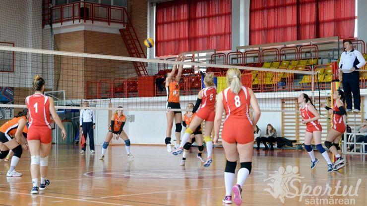 Volei | CSM Satu Mare 3 - 0 CS ProVolei Arad