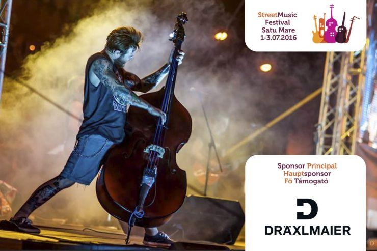 Festivalul Muzicii de Stradă 2016. Între 1 și 3 iulie, muzica stradală va răsuna din nou în Satu Mare