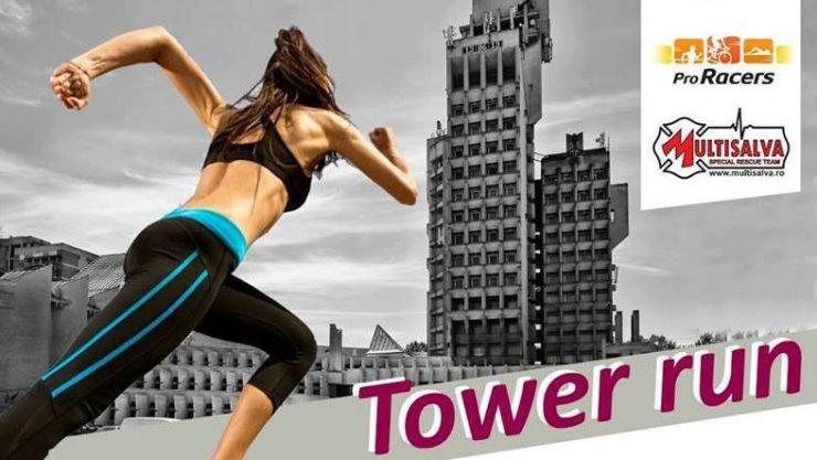 """Tower Run – """"cursa palatului"""", sâmbătă, ora 15:00"""